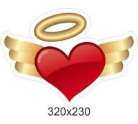 """Декоративний елемент до дня закоханих """"Серце"""""""