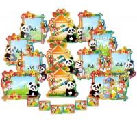 """Оформлення групи дитячого садку """"Панда"""""""