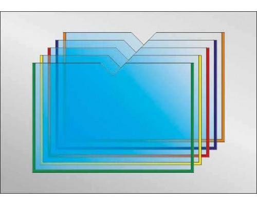 Кишеня А4 горизонтальна з вирізом