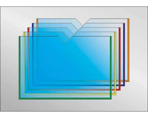 Кишеня А3 горизонтальна з вирізом
