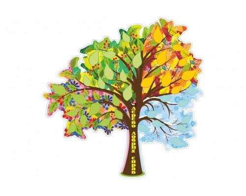 """Стенд для написів """"Дерево добрих справ"""""""
