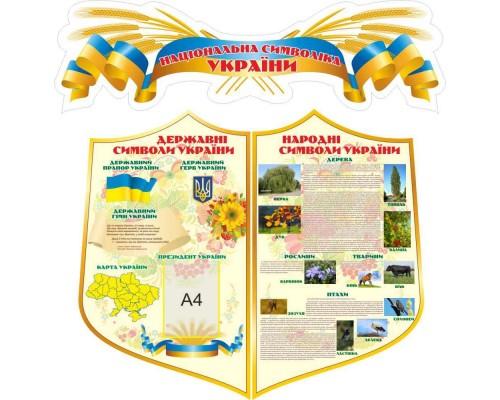 """Комплект стендів """"Народні символи України"""""""