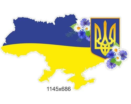 """Стенд """"Мапа України"""""""