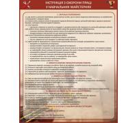 Інструкція з охорони праці у навчальних майстернях