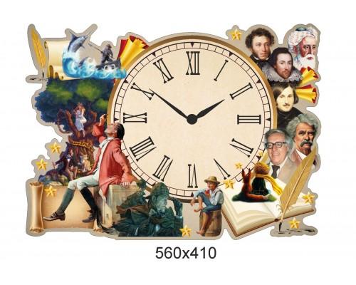 Пластиковий годинник з часовим механізмом